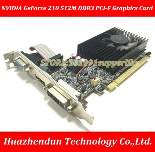 DEBROGLIE 1PCS Brand New Full height NVIDIA GeForce 210 512M DDR3 PCI-E ATX GT210 Graphics Video Card original 9500m 9500 gt 512mb gddr3 mxm 3 iii g96 7 video card for acer aspire 8920 8920g 8930 graphics card nvidia geforce