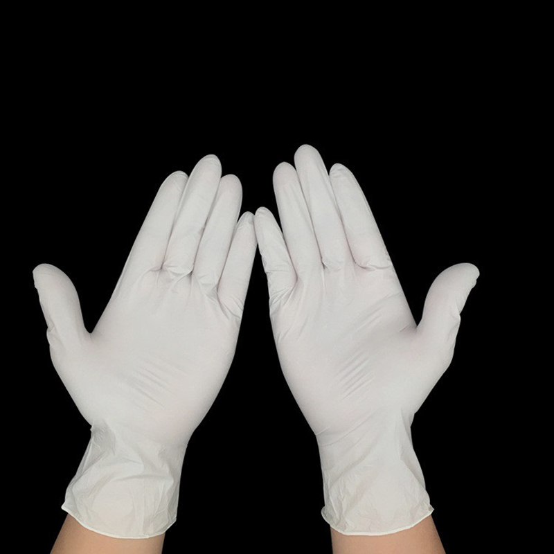 100 PC Green Direct Latex Gloves  Disposable  Finger Protector Food Prep Cooking Gloves  Kitchen Food Service Lab Cleaning