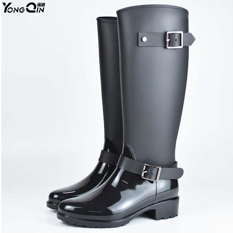 Women Rain Boots Comfortable Waterproof  Spring Autumn Shoes Rain Boot Woman Ankle Boots Large size 40  water shoes spring and autumn woman warm rain shoes and ankle rain boots lady waterproof fashion rubber boots