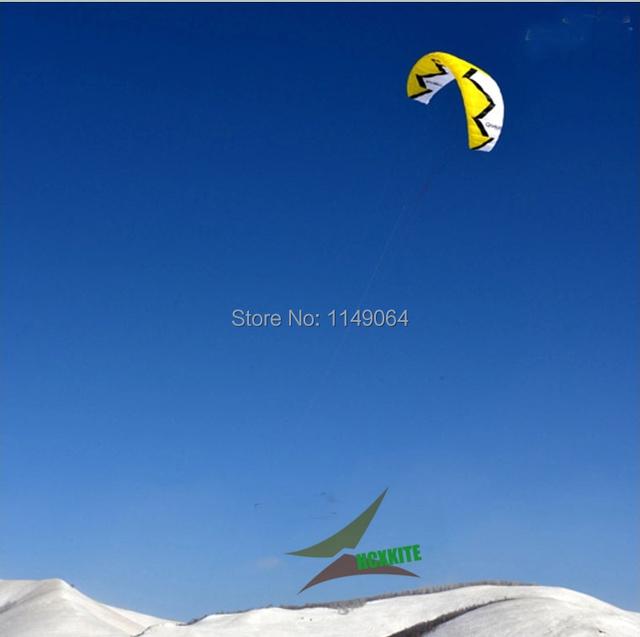 Envío de la alta calidad storm12 kite surf Todo terreno volante kite parafoil cometa con la línea de mango divertidos deportes al aire libre