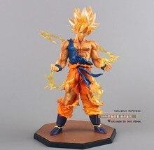 Anime Dragon Ball Z Super Saiyan Son Goku PVC Action Figure Collectible Toy 17CM