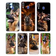 Silicone Phone Case Shepherds Dog German for Samsung Galaxy Note 8 9 M30 M20 M10 S10 S9 S8 Plus Lite S6 S7 Edge Cover g whitefield chadwick while shepherds watched