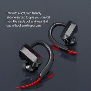 Image 3 - Fangtuosi k98 fone de ouvido sem fio, fone de ouvido esportivo wireless com microfone, gancho para a orelha, para iphone xr, samsung e huawei