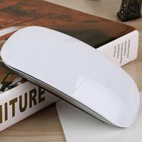 USB Sans Fil/Bluetooth ultra-mince Souris pour Ordinateur Portable Apple PC 1200 DPI Souris Optique Souris avec Tactile Molette de défilement