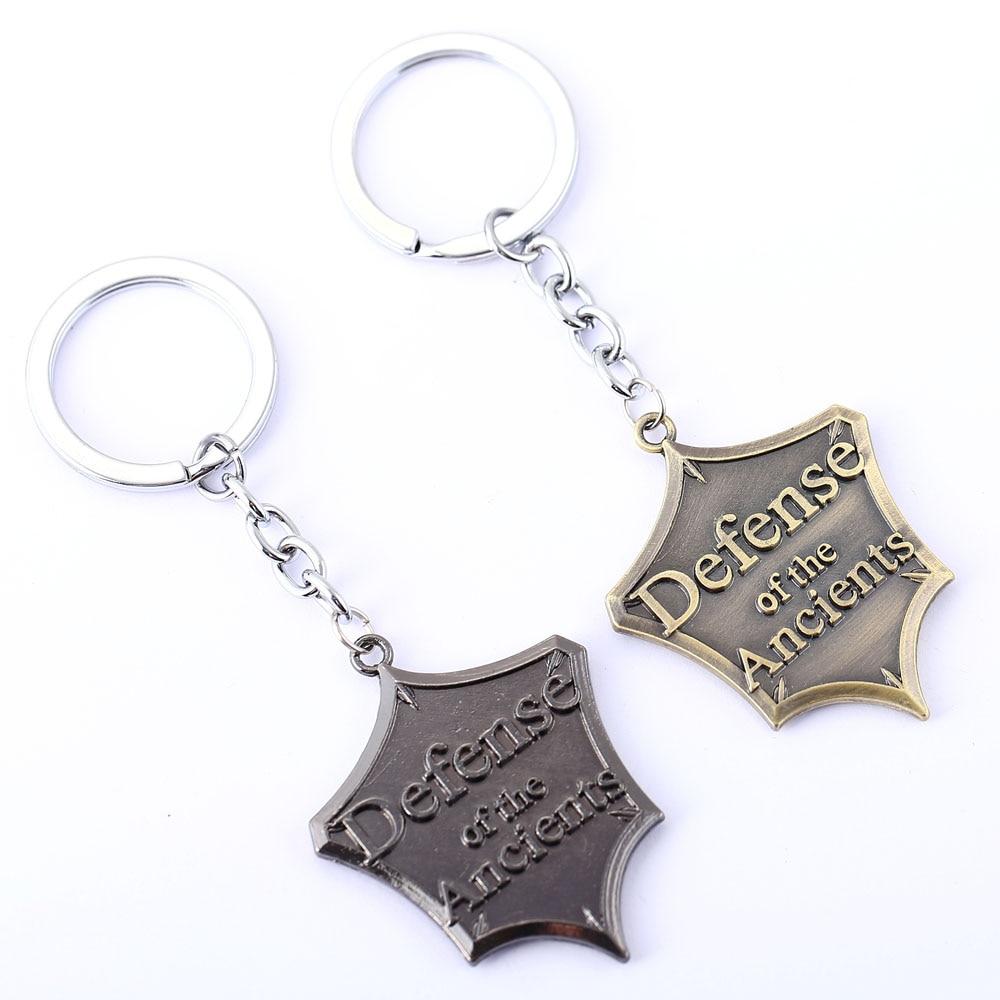 DOTA 2 Key Chain 2016 Men Key Rings For Gift Chaveiro Car Keychain Jewelry Game Key Holder Souvenir YS11285