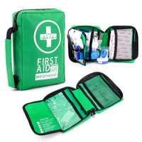220 pçs mini kit de primeiros socorros portátil resistente à água saco de primeiros socorros para carro casa viagem caminhadas acampamento ao ar livre kits de emergência