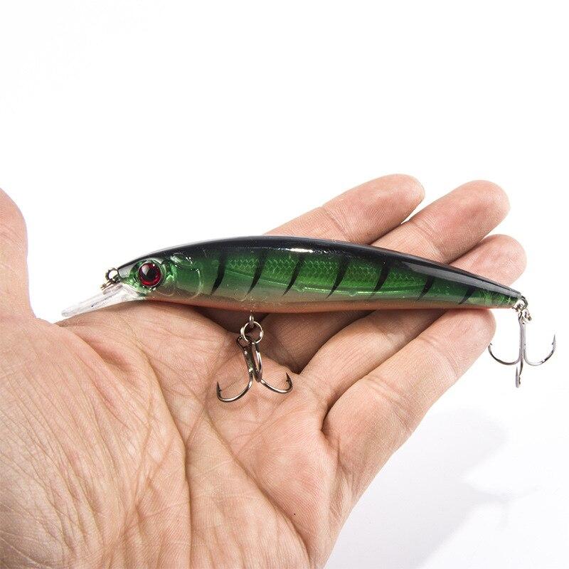 8PCS/Lot 11cm 13.5g Fishing Lures Classic Style Minnow Fishing Bait Fishing Tackle Free Shipping Fishing Lure Set HQ051