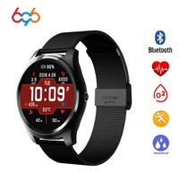 696 X8 Heart Rate Monitor Bluetooth info sync Facebook Whatsapp watches blood pressure Smart Watch For IOS Android watch|Smart Wristbands|Consumer Electronics -