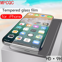 Protective tempered glass for iphone 6 7 5 s se 6 6s 8 plus glass for iphone XS max XR x screen protector glass on iphone 7 6S 8