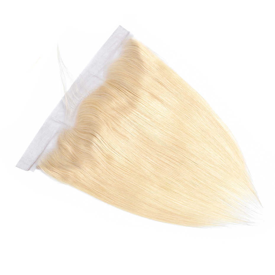 Габриэль Кружева Фронтальная Закрытие 13x4 блонд 613 фронтальная бразильские Прямые Remy человеческие волосы закрытие швейцарское кружево бесплатная доставка
