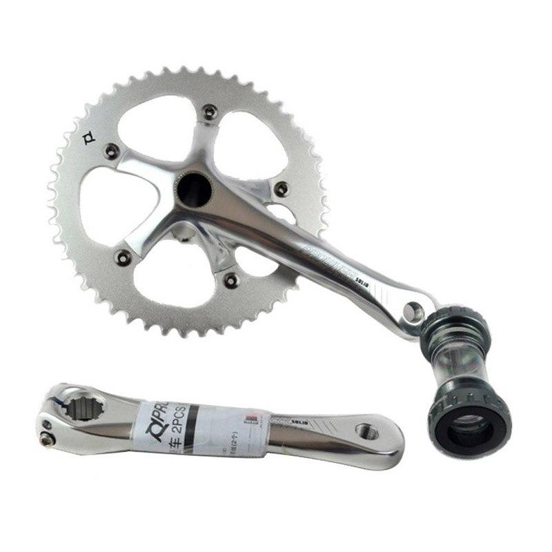 Prowheel pédalier vélo à pignon fixe vélo à vitesse unique Fixie pédalier vélo de route chaîne roue 48 T