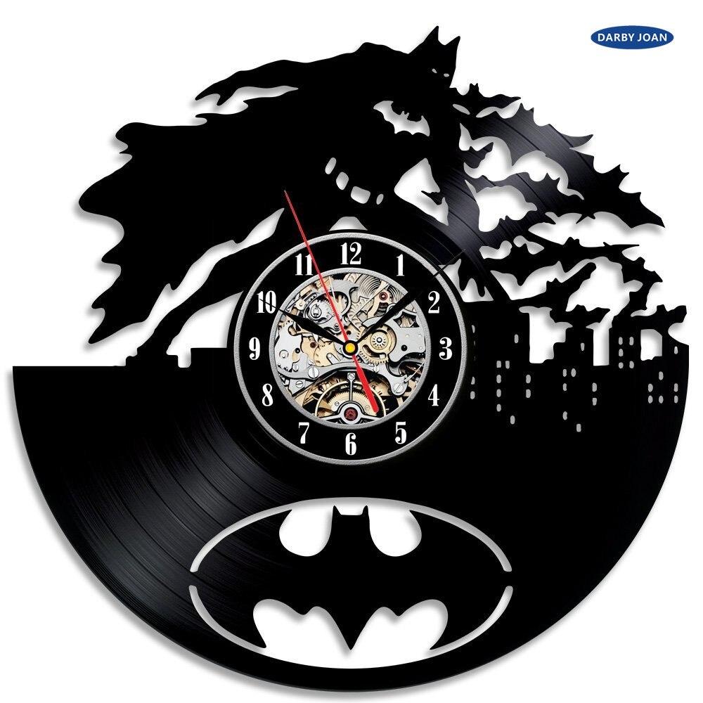Wall Clock Batman Arkham City Logo Best Wall Clock