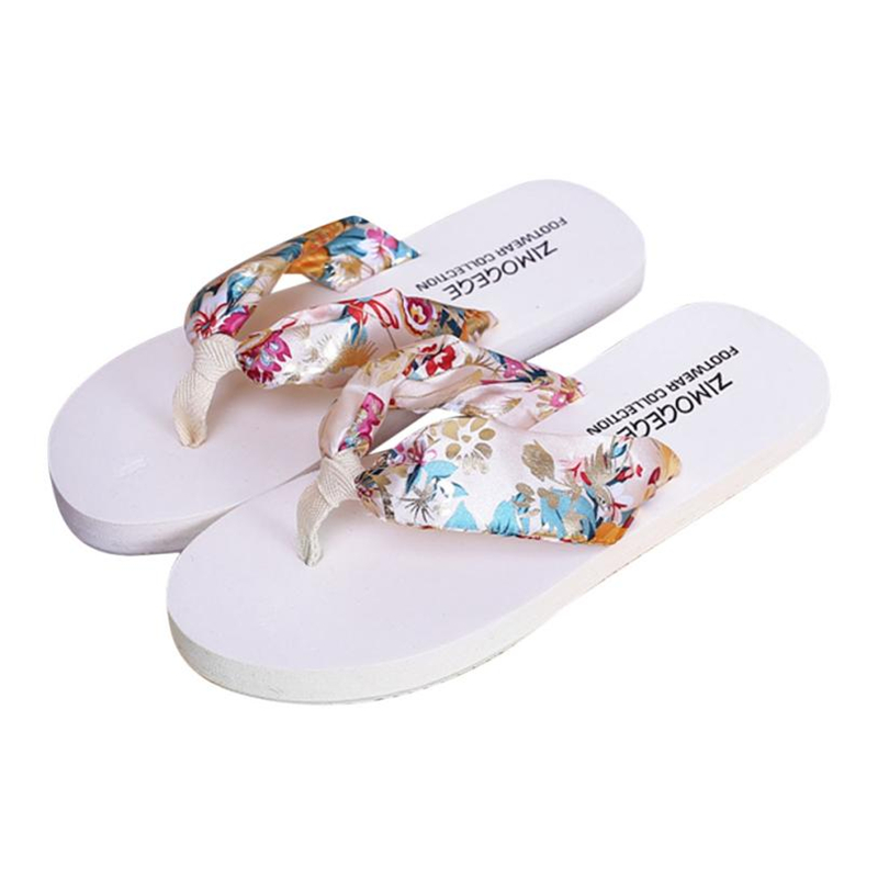 flip flops flip flops Women Summer Sandals Slipper Indoor Outdoor Flip-flops Beach Shoes O0515#30 trendy women s sandals with flip flops and strap design