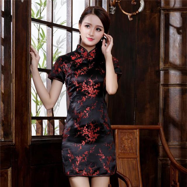 Plus Size 3XL 4XL 5XL 6XL Chinese Qipao Classic Women Satin Cheongsam Oriental Bride Wedding Dresses 2020 New Evening Party Gown