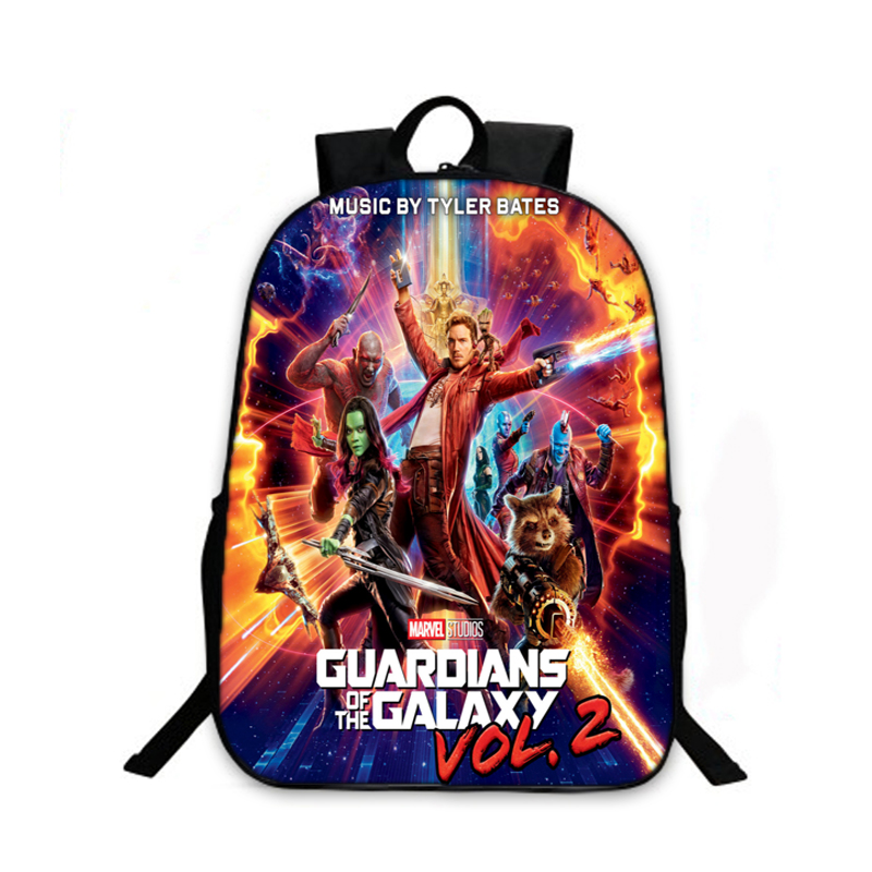 Women Fashion Backpack Guardians of the Galaxy Vol.2 School Backpack Boys  Girls School Bags Children Bookbag Kids Daily Backpack-in Backpacks from  Luggage ...