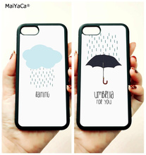 BFF love couple Rain and couple soft edge mobile phone cases for apple iPhone x 5s SE 6 6s plus 7 7plus 8 8plus XR XS MAX case многоразовый подгузник kanga care для новорожденных lil joey 2 шт eco owl 628586258785