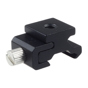 Camera Metal Cold Shoe Hot Shoe Flash Bracket Mount Adapter With 1/4 Tripod Screw To Light Stand Tripod Camera Accessories 1