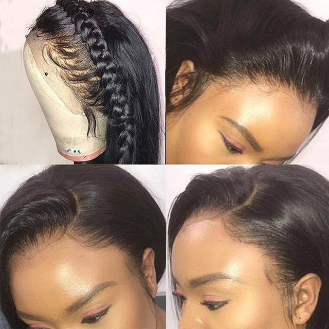 Full Lace Straight Human Hair Wig