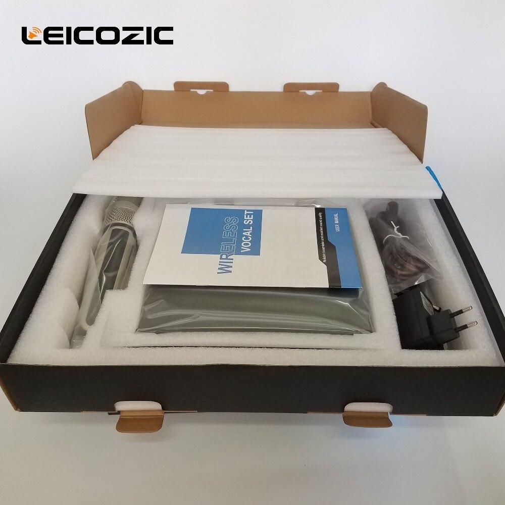 Leicozic SKM U9100 Professional digital microphone wireless True diversity microphone for large-scale performance skm microphone
