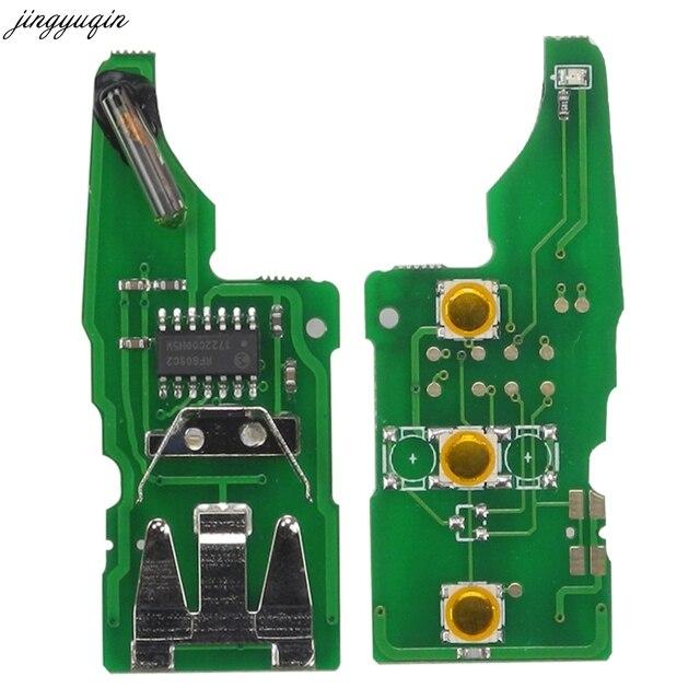 jingyuqin 15X 5K0837202AD Remote Key Circuit Electronic Board for VW Beetle/Caddy/Golf/Jetta/Polo/Scirocco/Tiguan/Touran + ID48