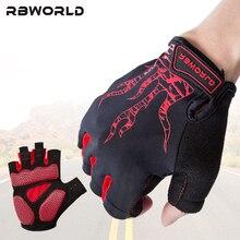 Brand Cycling Bicycle Half Finger Gloves Men Mtb Bike Motocross Luvas Guantes Bicicleta Invierno Silica gel