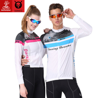 MTB 2017 Spring Summer Breathable Sunscreen 3D Design MTB Mountain Bike Cycling Clothing Jersey Light And