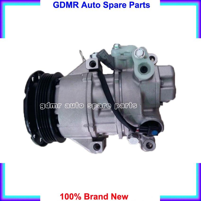 4PK Auto air conditioner compressor 88310 52551 ac compressor 88310 52551 for Toyota yaris 1.3L