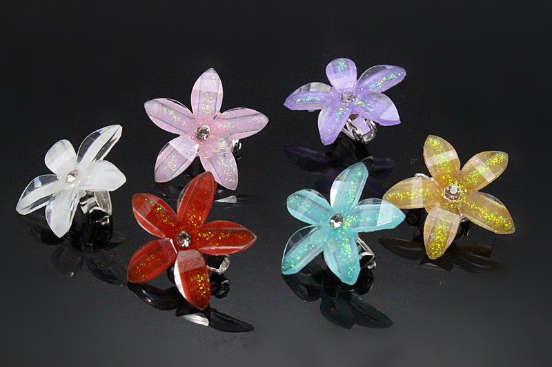 10pcs Twist Brides Hair Spin Pins Flower Fashion Star Bridal Hair Jewelry Wedding Girls Pearl Accessories DDJ-119