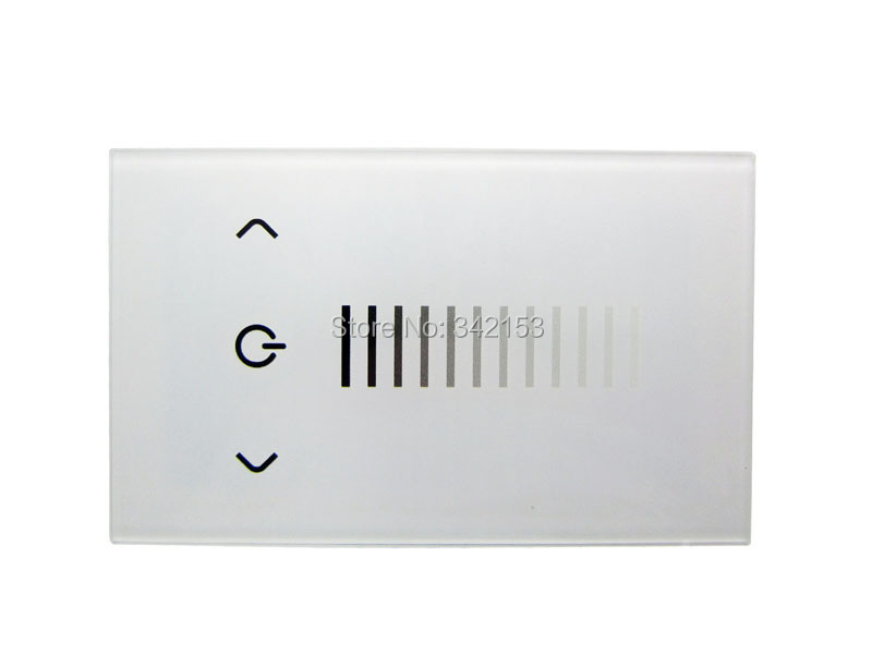 TOPLEDLIGHT Low Voltage Touch Panel Dimmer TM06 US Standard DC12 24V ...