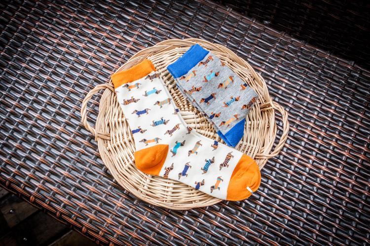 Quality New Creative Men Women Zoo Cotton Socks Animals Fox Dog Female Cartoon Unisex Lovely Women Socks Drop Shipping 1 Pair 6