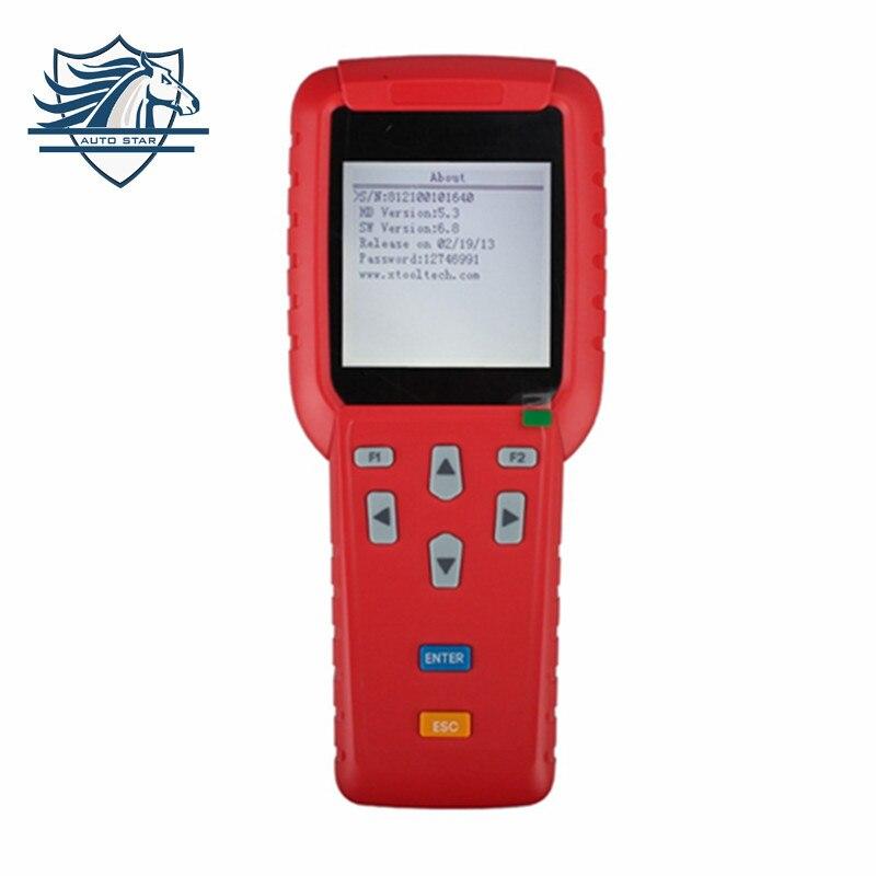 Prix pour Xtool x100 pro auto key programmation + kilométrage changement kilométrage correction outil de réglage + obd2 lecteur de code scanner automobile