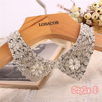 Fashion Women's Sequined Choker Necklaces Jewelry Necklaces Women Jewelry Metal Color: Style 3