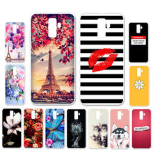 Ojeleye DIY Patterned Silicon Case For Leagoo M9 Case Soft TPU Cartoon Phone Cover For Leagoo M9 Covers Bags Anti-knock Shell(China)