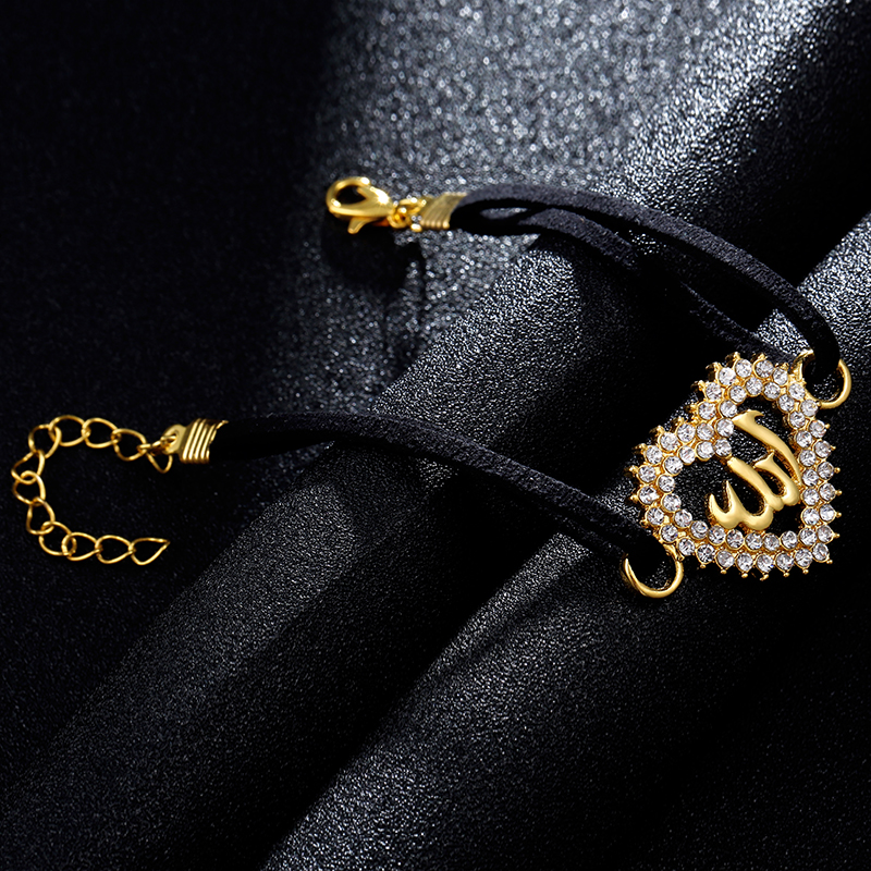 SONYA 2018 Hot selling fashion simple Middle East islamic women heart Muslim bracelet birthday gift