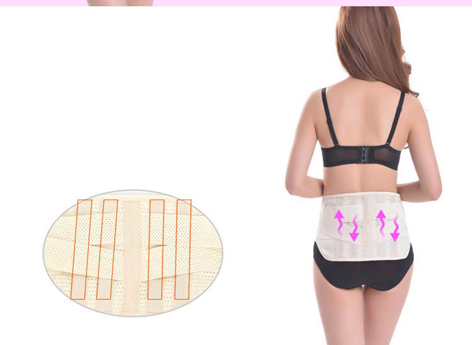 Orthopedic Back Belt Men Back Support Belt Pain Mens Back Posture Corrector Belt Faja Lumbar Support Brace Plus Size