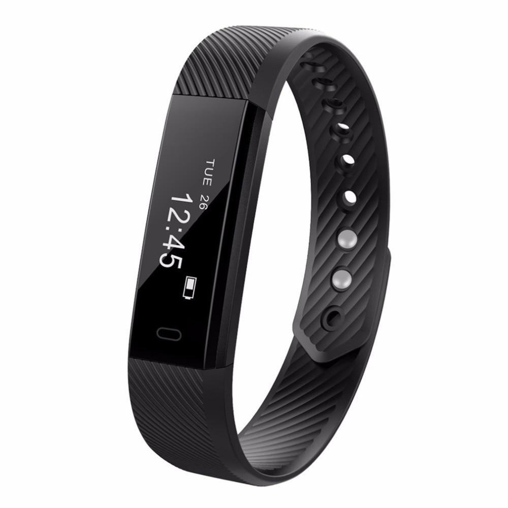 ID115 Smart pedometer Fitness Tracker Passometer Sleep Monitor Track Smart Alarm Clock Step Counter Fitness pedometer