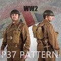 WWII WW2 UK Britischen Armee P37 ANZÜGE & AUSRÜSTUNG WINTER UNIFORM WOOLEN Mantel & Hosen & AUSRÜSTUNG & HELM-in Trainings- & Übungs-Sets aus Sport und Unterhaltung bei