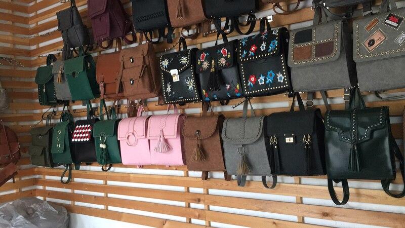 Vintage Women Backpack High Quality Black Pu Leather Backpacks For Teenage Girls Female School Shoulder Bag Bagpack mochila 2019