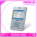 Original del teléfono Nokia E62 Quad band E62 original abrió el teléfono del teclado Qwerty del envío libre