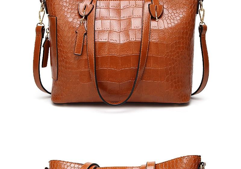 alligator crossbody bag for women shoulder bag female handbag ladies elegant shopping bag_12