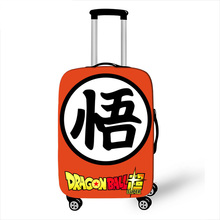 18-32 дюймовый Дракон мяч солнце Гоку чемодан Крышка путешествия чемодан протектор для мальчиков девочек тележка прочный защитный чехол