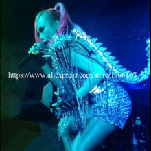 New Design Led Luminous Light Up Growing Women Party DS Costume Stage Dance Clothes Sexy Lady Led Evening Party Dress