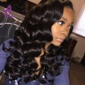 Raw Indian Virgin Hair BodyWave Bundles Deal Peerless Unprocessed Human Hair Body Wave 3 Bundles Body Wave Indian Virgin Hair
