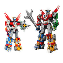 2600pcs New Hot Deformation Robot Compatible Legoings Building Blocks Toy Kit DIY Educational Children Christmas Birthday Gifts(China)