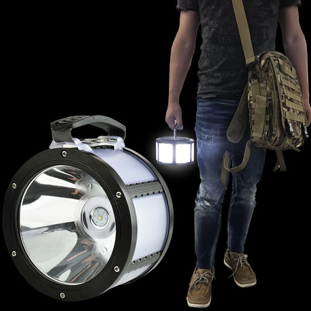 TPFOCUS L2 USB LED de prise de charge lampe de Camping lampe d'avertissement de lumière de tente d'urgence pour les activités de plein air