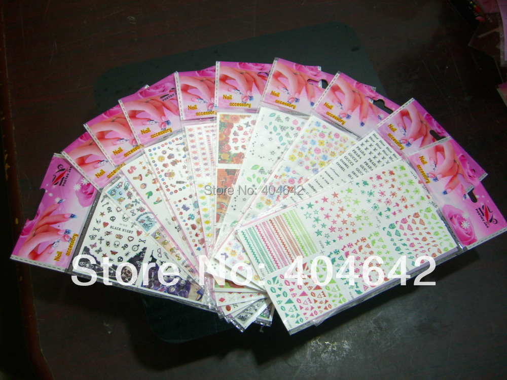 Nails Art & Tools 1x Water Transfers Stickers Nail Decals Bow Tie Water Decal Colorful Bow Tie Yu250-252 Beauty & Health