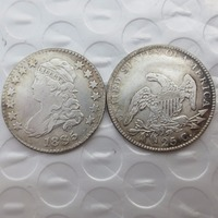 U.S 1835 Capped Bust Quarter Dollar coins