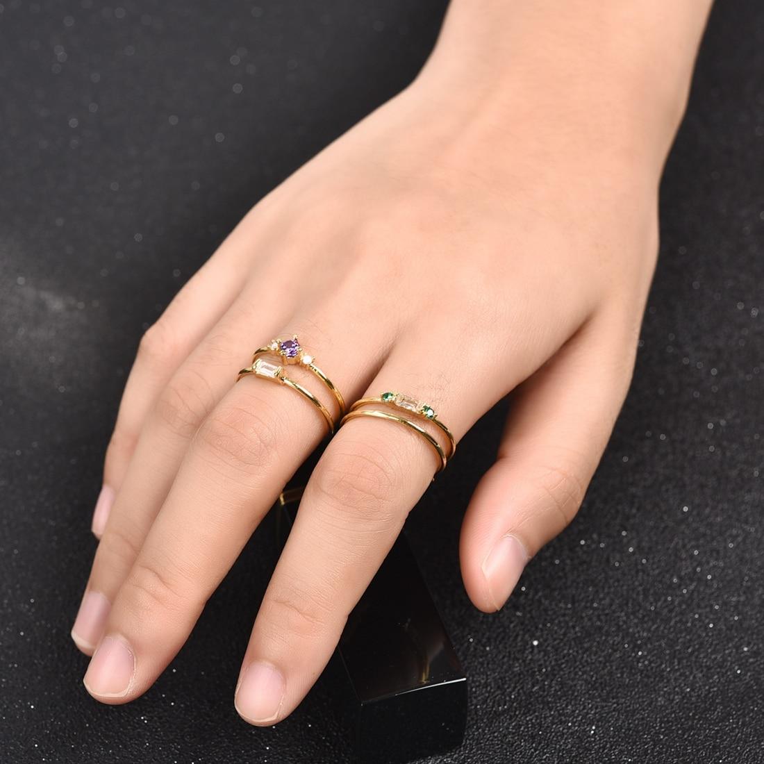 Simple Boho Rings