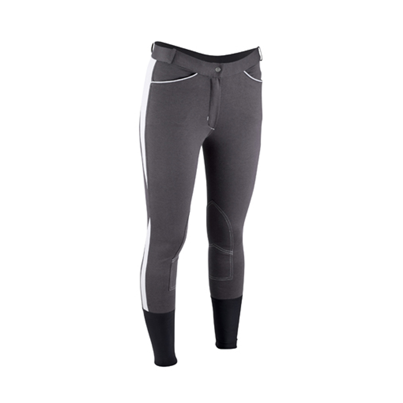 Women Horse Riding Pants Equestrian Breeches Sports Legging Ladies Knee Patch Jodphurs R ...