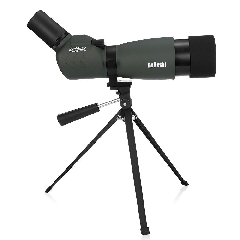 Beilish открытый 20-60x60 зум Ночное видение Монокуляр телескоп переменной целевой объектив для Пеший туризм кемпинг спорта на открытом воздухе